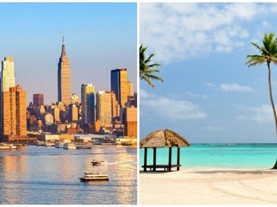 Un viaje y dos destinos para tu luna de miel: Nueva York con Punta Cana o con Riviera Maya