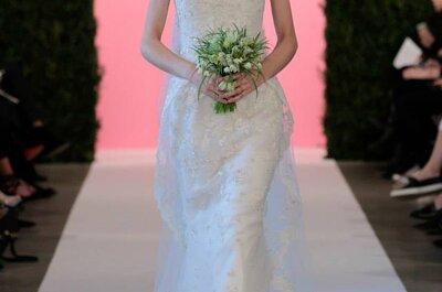 Bekijk deze vintage trouwjurken van Oscar de la Renta voor 2015