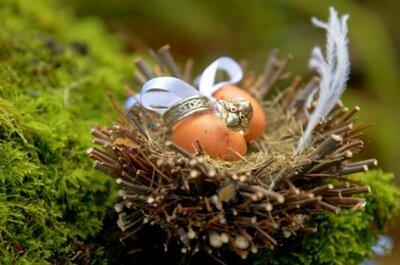 Décorations de mariage sur le thème des oiseaux