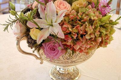 Dekoracje stołu weselnego w szykownym stylu VINTAGE