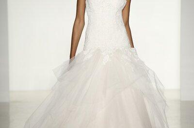 Elegantes vestidos de novia de Kenneth Pool colección otoño 2014