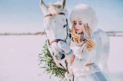 Зимний макияж невесты 2017!