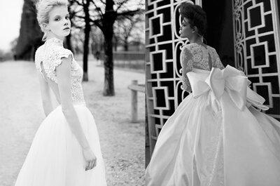La sutileza de un vestido de novia