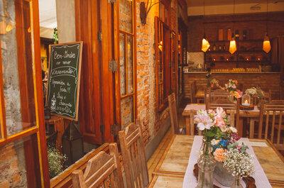 10 restaurantes para o seu casamento em São Paulo: aconchego deslumbrante!