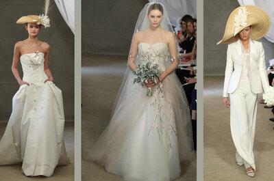 Os incríveis vestidos de noiva Carolina Herrera 2013: além das tendências