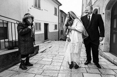 Look della settimana: sposa d'inverno