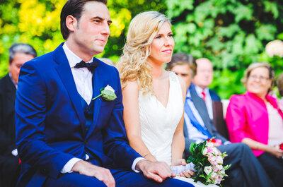 De un concierto de rock a un precioso jardín asturiano: la boda de Marga y Víctor