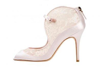 Zapatos de novia Monique Lhuillier 2014