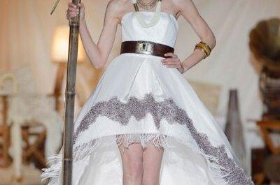 Pasarela Inmaculada García 2014: sofisticados y románticos vestidos de novia y fiesta