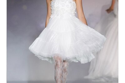 Kurze Brautkleider von Novia d'Art 2012: Der Hingucker schlechthin!