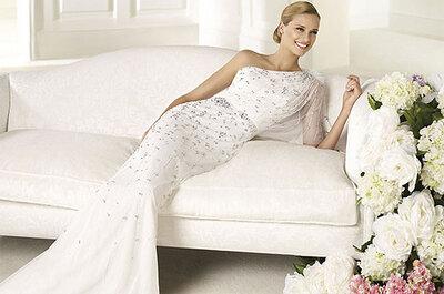 Tendencias en vestidos de novia 2013