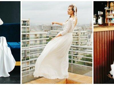 Robes de mariée Maison Floret 2017 : plongeon dans l'univers de la danse russe teinté d'inspirations folkloriques