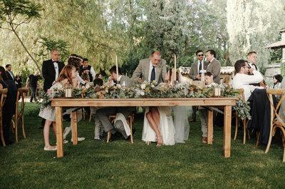 La mesa de novios, ¿quién puede sentarse con ellos?
