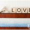 Arma mensajes llenos de amor con las letras estilo Scrabble - Foto Krista Photography