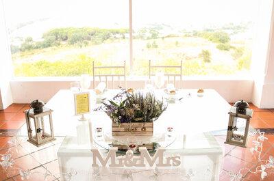 Que tipo de mesas de casamento escolher?