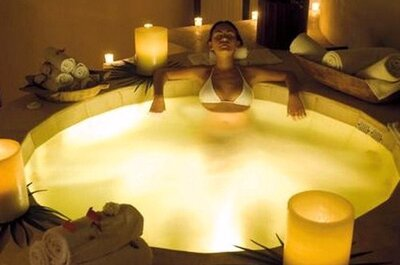 La mejor forma de relajarte antes de tu boda.