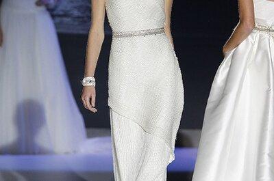 Bridal Week en Barcelona: Vestidos de novia Jesús Peiró 2013