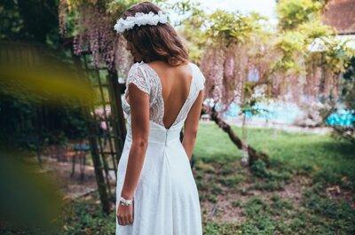 Choisir sa robe de mariée pour la cérémonie : les 6 points clés !