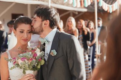 Qué tipo de ramo llevar con el vestido de novia: 5 ideas para sorprender
