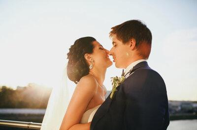 Классическая свадьба Ивана и Ольги: красиво и со вкусом!