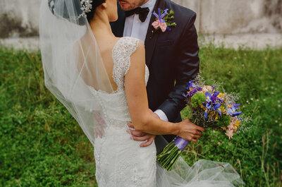 Tú eres mi cuento de hadas perfecto: La boda de Wendy y Luis