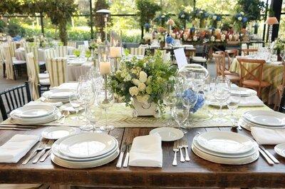 Banquetes para bodas en el DF: 12 empresas TOP que deleitarán tu paladar