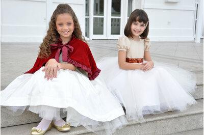 Vestidos para daminha de casamento Mairoca: estilo e delicadeza para meninas