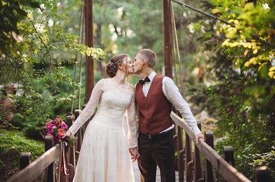 Свадьба для самых близких: романтичное торжество Алексея и Катерины