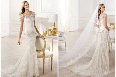 El vestido de la semana: una novia vintage de Pronovias 2014