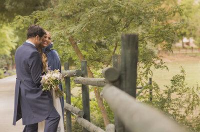 Y la vida les volvió a juntar: la boda de Cristina y Alejandro