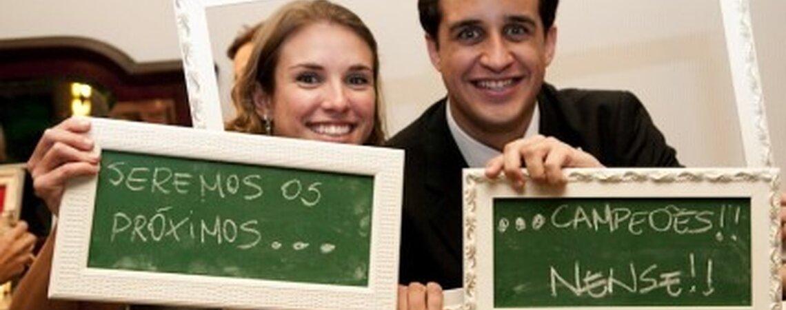 Un'idea originale per il vostro album di nozze? Incornicia i tuoi invitati!