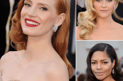 Tendencias de belleza para invitadas de boda inspiradas en Los Oscars 2013