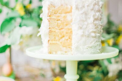 Bolos de pequeno porte lindos e saborosos chegam como tendência em casamentos