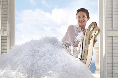 Os belíssimos vestidos de noiva Pronovias 2015: glamour e estilo para seu grande dia!