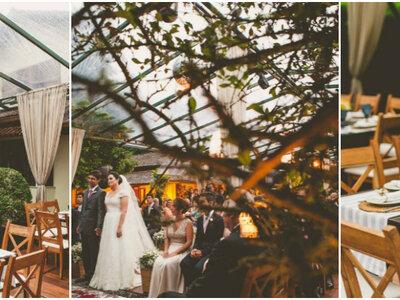 Adriana & Rafael: mini wedding em casa super romântico na serra de Petrópolis