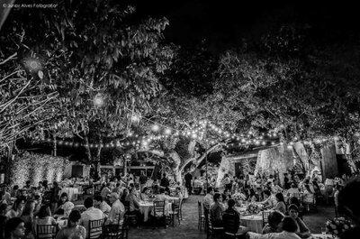 Espaços cheios de charme para seu casamento em Fortaleza