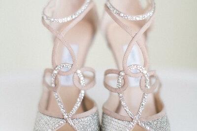 Arte allo stato puro: scegli le scarpe da sposa Jimmy Choo 2016