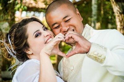 Casamento Seicho-No-Ie Isabela e Akira: protagonistas de uma caminhada cheia de amor