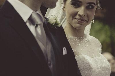 Amor sem fronteiras: casamento de Sabrina e Rodrigo