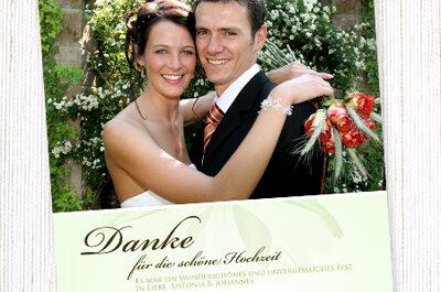 Hochzeitskarten von Wunderkarten – von klassisch bis modern!