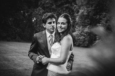 Carolina y Jacobo: una boda en un palacio asturiano