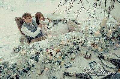 Ventajas de celebrar tu boda en invierno: ¡el frío también gusta!