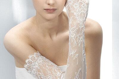 Guantes para acompañar tu vestido de novias
