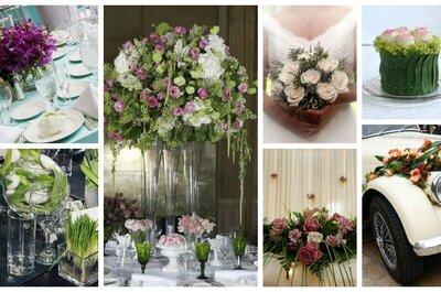 Dekoracje kwiatowe na weselu - ile kosztują i od czego zależy ta cena?