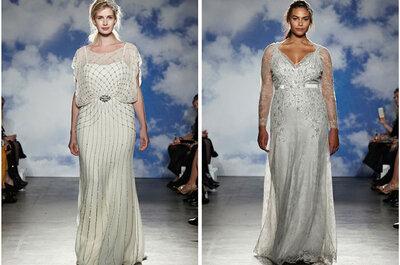 Collezione Sposa Jenny Packham 2015: sofisticate vestali ispirano il tuo look nuziale