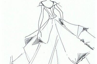 Vestido de noiva de Angelina Jolie: uma sugestão da estilista Dora Guimarães