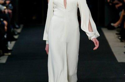 Descubre los vestidos de novia más originales de las semanas de la moda internacionales