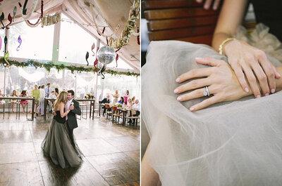 Real Wedding: Magnífico boho chic em Texas