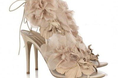 Valentino Spring/Summer 2010 shoes - Neutrals for brides