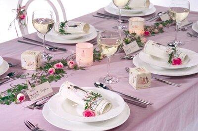 Die richtige Dekoration für die Hochzeit mit Party Dekoshop